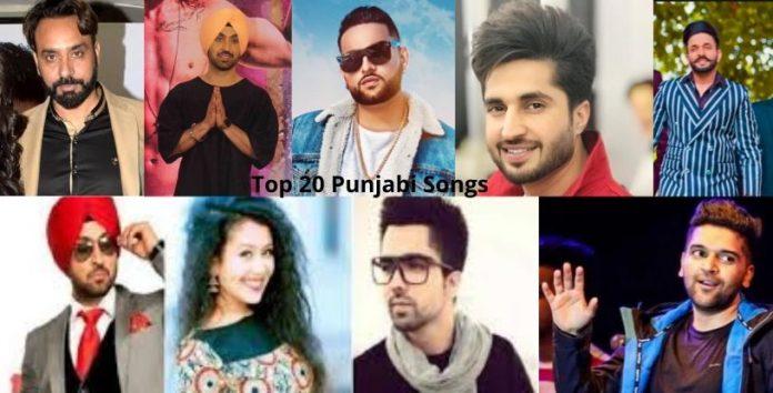 Top 20 Punjabi Songs