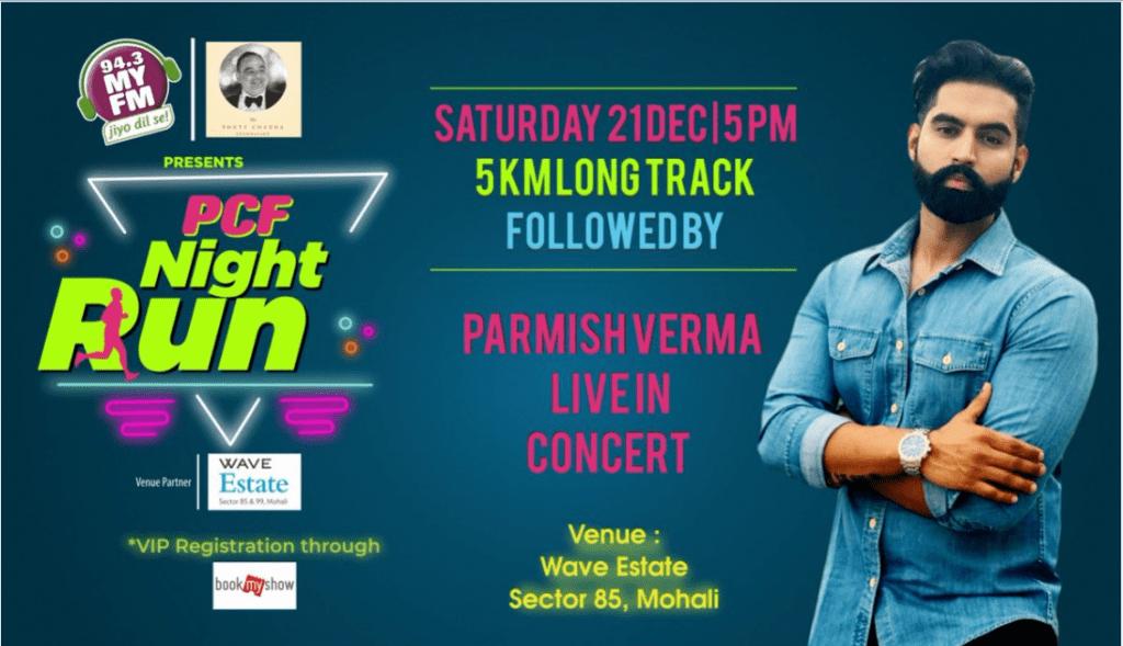 PCF Night Run Parmish Verma