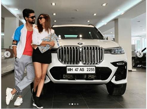 Congratulations Ravi and Sargun Mehta for BMW