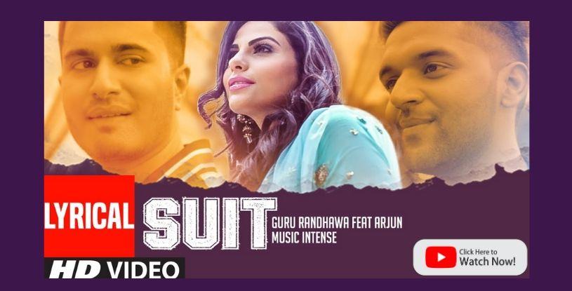 Suit by Guru Randhawa