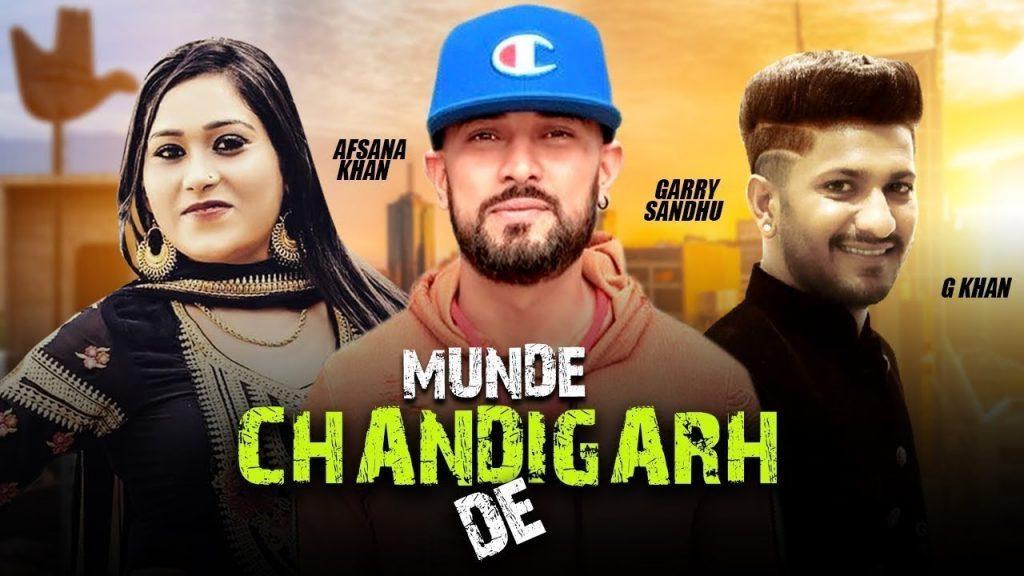 Munde Chandigarh De by Garry Sandhu & G Khan